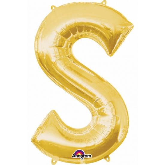Naam versiering gouden letter ballon s