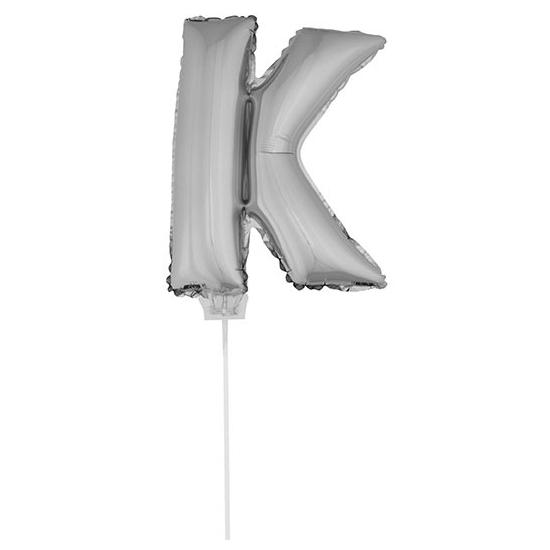 Opblaas letter ballons op stokje 10076041