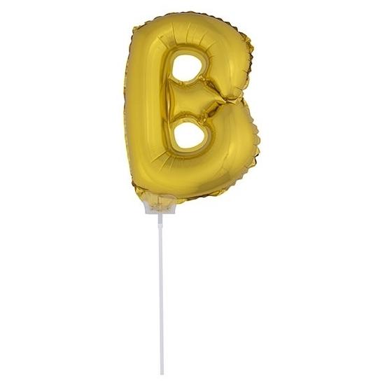 Opblaas letter ballons op stokje 10076052