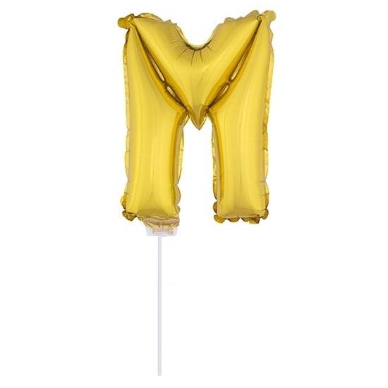 Opblaas letter ballons op stokje 10076055