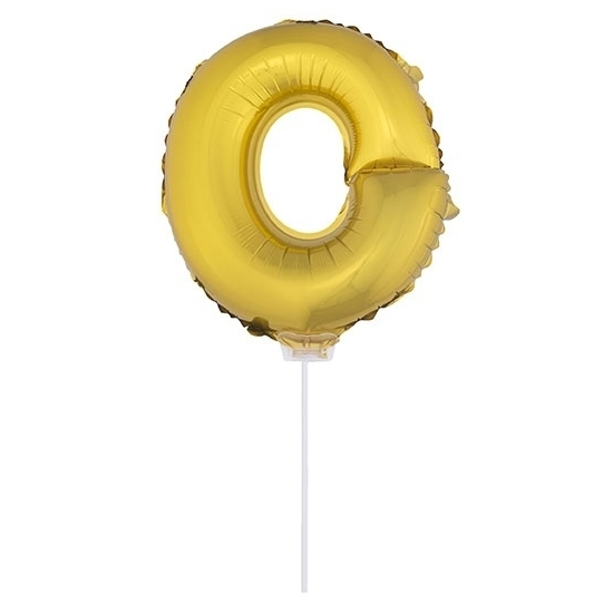 Opblaas letter ballons op stokje 10076058