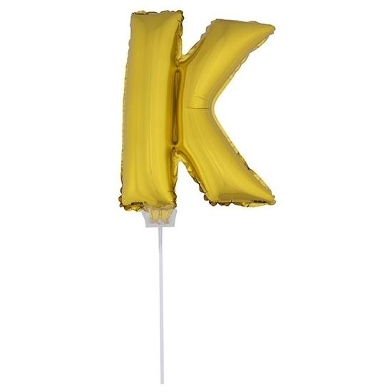 Opblaas letter ballons op stokje 10076067