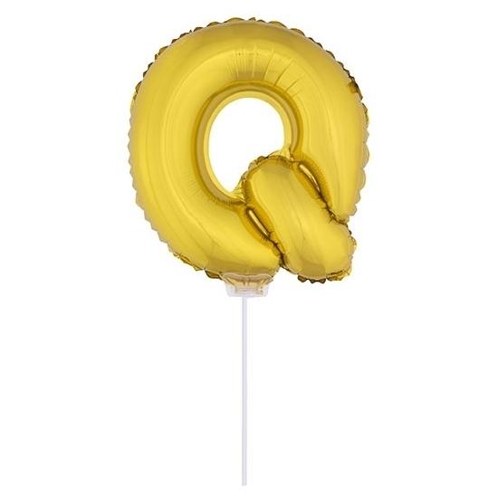 Opblaas letter ballons op stokje 10076070