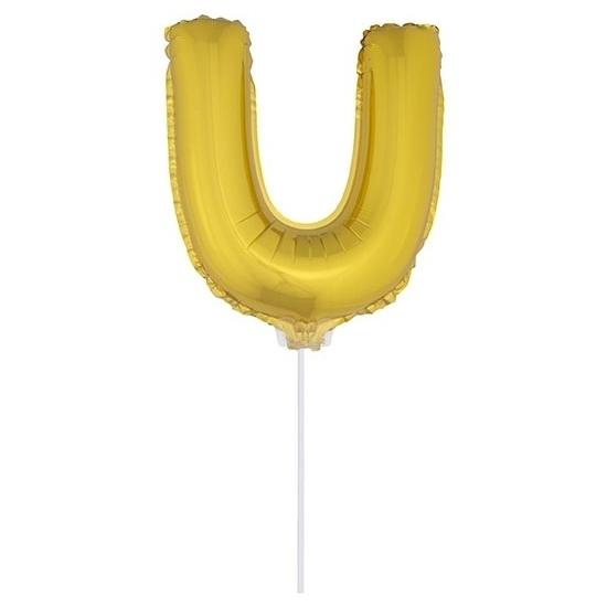 Opblaas letter ballons op stokje 10076073